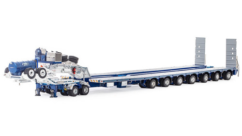 Drake 2x8 Dolly and 7x8 Steerable Low Loader Trailer - MACTRANS