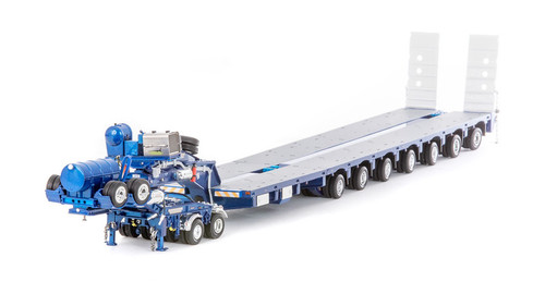 Drake 2x8 Dolly and 7x8 Steerable Low Loader Trailer - METALLIC BLUE