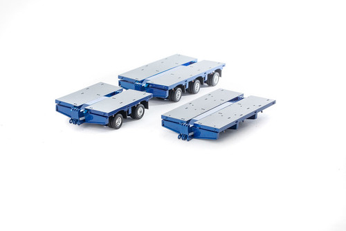 Drake Steerable Low Loader Trailer Accessory Kit - Metallic Blue