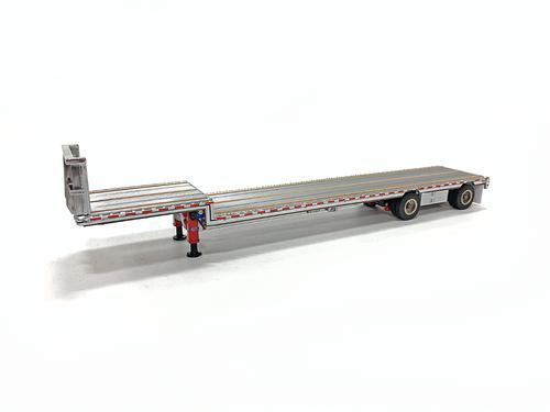East Drop Deck - Aluminum/Red