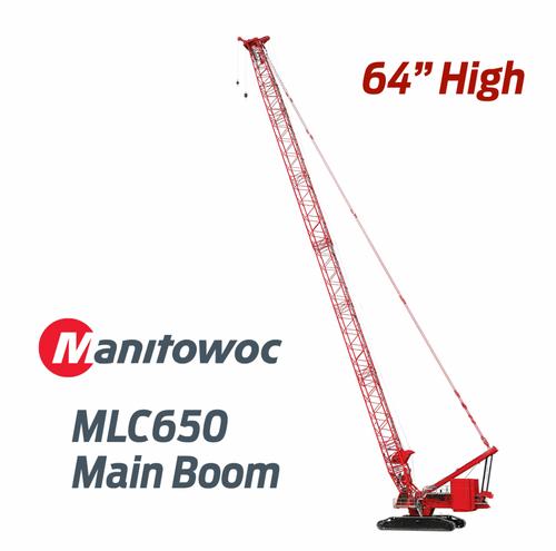 Manitowoc MLC650 Main Boom Crawler Crane