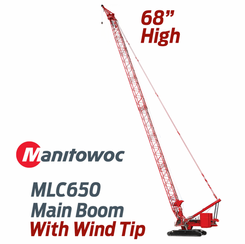 Manitowoc MLC650 Crawler with WIND TIP