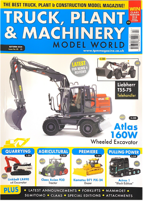 Truck, Plant & Machinery Magazine - Autumn 2020 - Issue No: 05