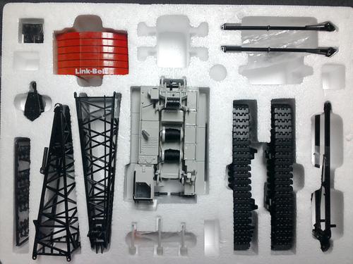 Link Belt 238 Lattice Crane