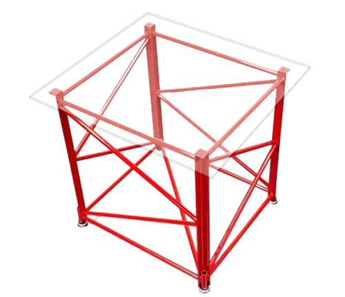 Manitowoc 4100 Mini Table - Red