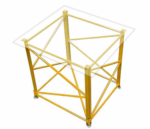 Manitowoc 4100 Mini Table - Yellow