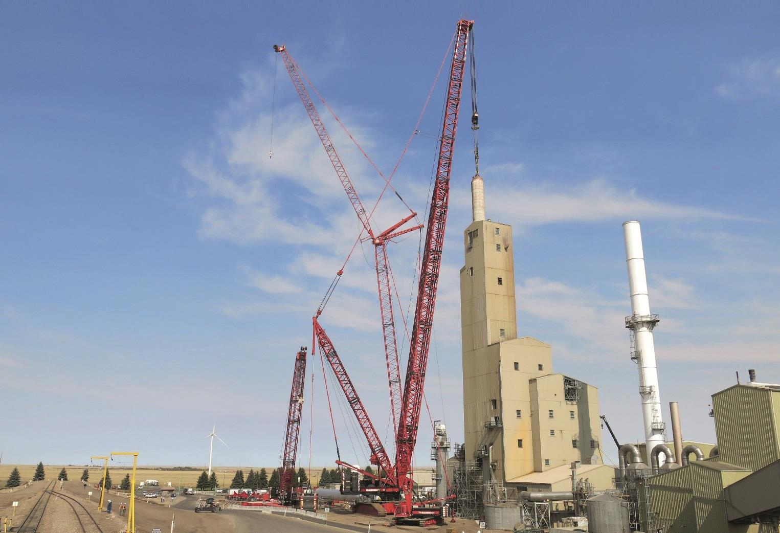 Wind Power and Nuclear Power Industries Drive Heavy Lifting Growth