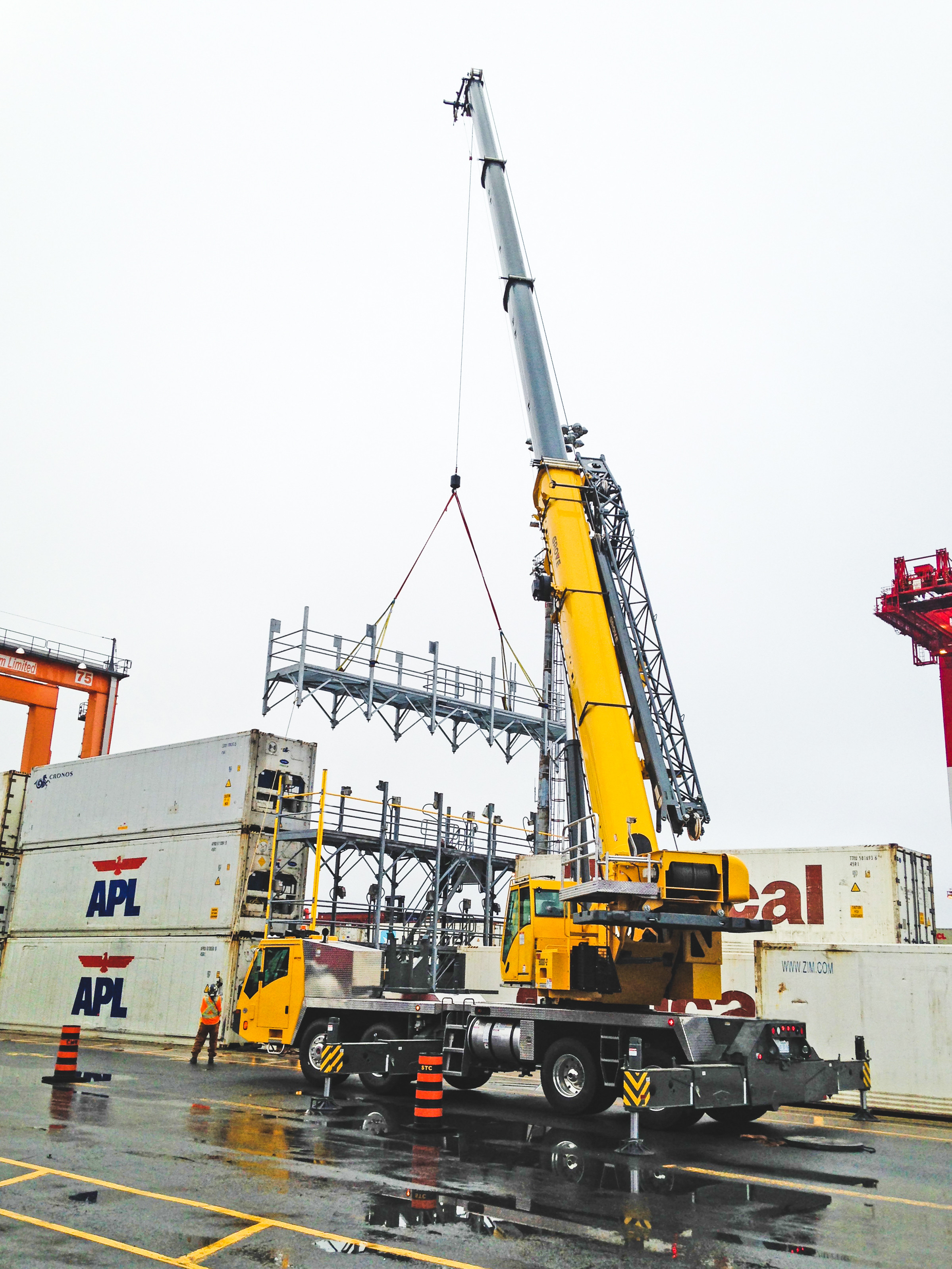 Better Crane Technology Leads to Project Cost Savings