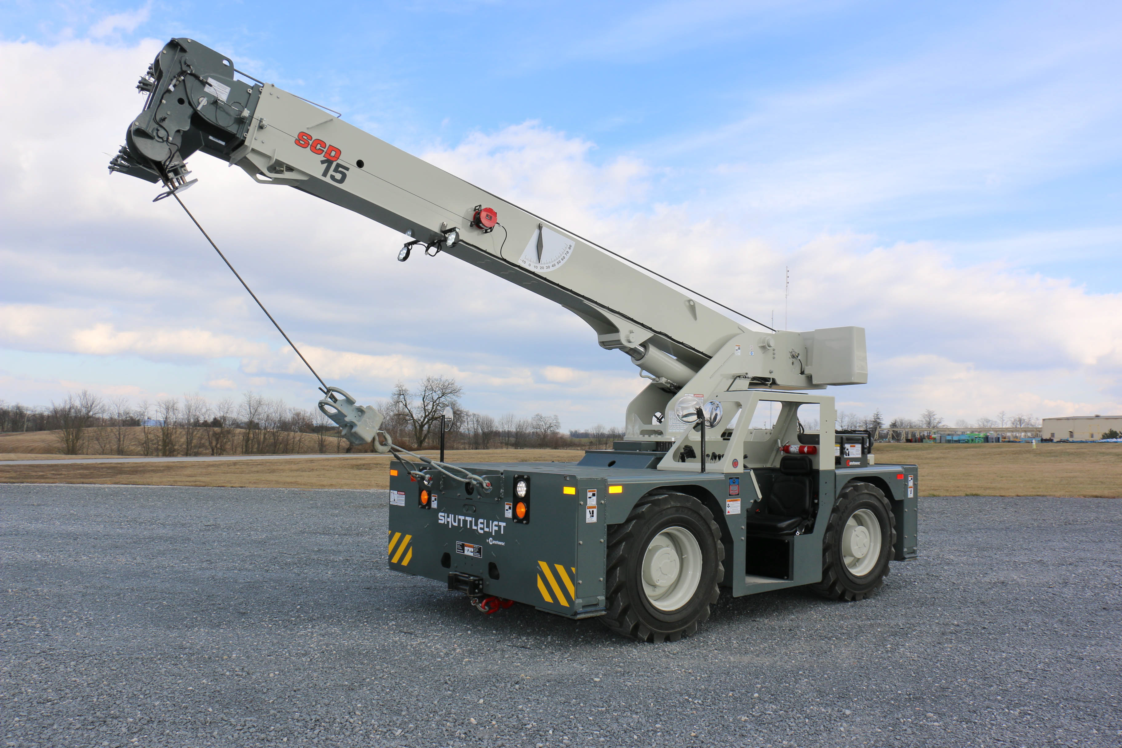 Manitowoc  Bringing Brand New Shuttlelift SCD15 To Rental Show This Year