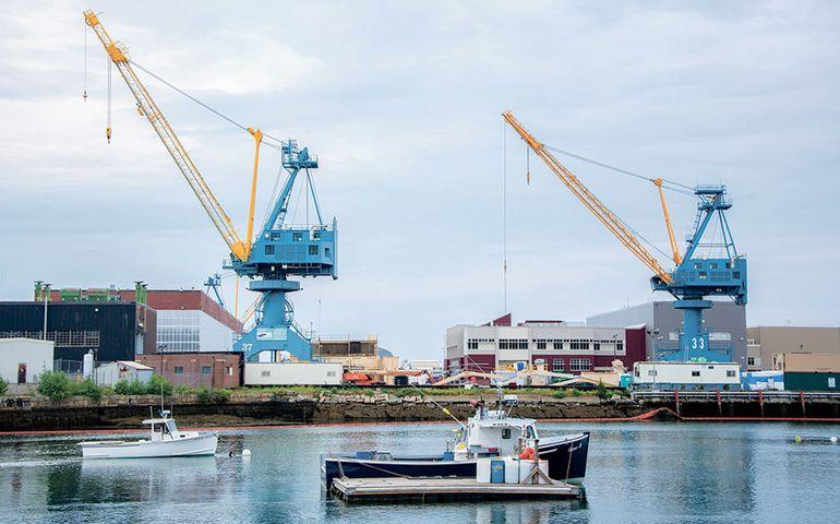Cianbro to help Upgrade the Kittery Shipyard