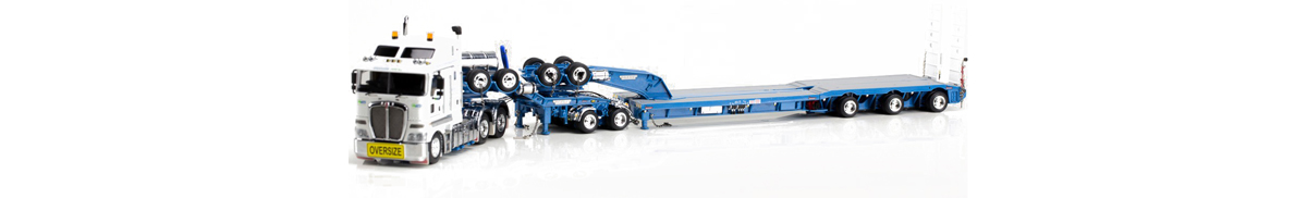 1:50 scale Kenworth K200 with Drake Swingwing Low Loader in NTS Livery