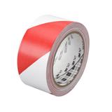 3M 767i ipari jelölőszalag ragasztószalag - piros-fehér, 50mm x 33m (70006299880)