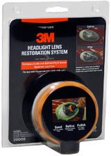 3M Car Care fényszóró javító polírozó szett készlet