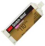 3M DP 110 szürke  Scotch-weld  kétkomponensű szerkezeti ragasztó, 50ml