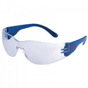 3M 2720 típusú védőszemüveg, víztiszta, karcálló felülettel, páramentesítő réteggel