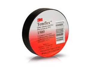 3M Temflex 1500  Scotch PVC szigetelőszalag 19 mm x 20 mm