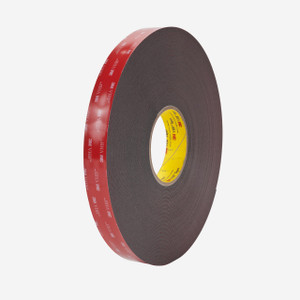 3M  5952  VHB kétoldalas akrilhab ragasztószalag, antracit szürke 19 mm x 3 m