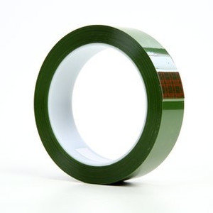 3M 8402 poliészterfilm-hordozós, áttetsző zöld ragasztószalag pigmentált ragasztóval 12 mm x 66 m