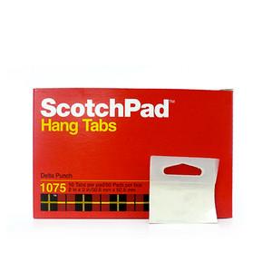 3M 1075 Scotch Pad öntapadó átlátszó akasztófül