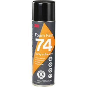 3M Spray 74 univerzális oldószeres ragasztó|erős hab ragasztó