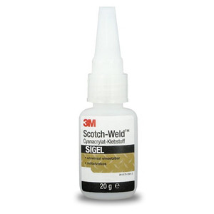 HSRshop 3M SIGel Scotch-Weld  pillanatragasztó 20gm