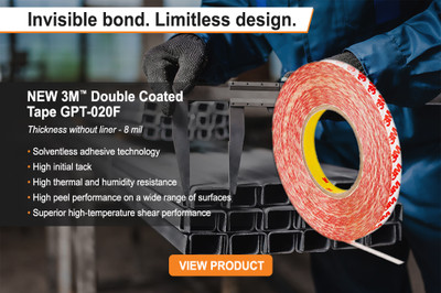 Új termék a 3M palettán - 3M GPT-020F akril ragasztószalag