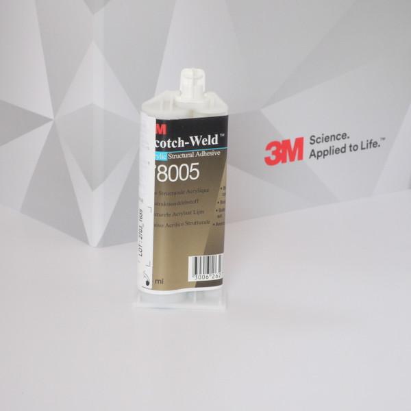 HSRshop 3M DP 8005 Scotch-weld  kétkomponensű akril szerkezeti ragasztó, akril, 38ml kiszerelés. Kimondottan PE, PET és a nehezen ragasztható műanyagokra kifejlesztve.
