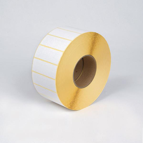 3M 7871 thermal transzfer fényes fehér címke 50 mm x 10 mm / db ( a készlet erejéig)