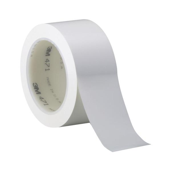 471 vinil fehér színű ragasztószalag, jelölőszalag 100 mm x 33 m