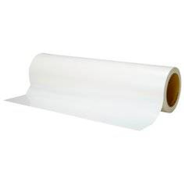 471 vinil fehér színű ragasztószalag, jelölőszalag 100 mm x 33 m. Magas hőtűrésű PVC szalag padlójelöléshez, maszkoláshoz.