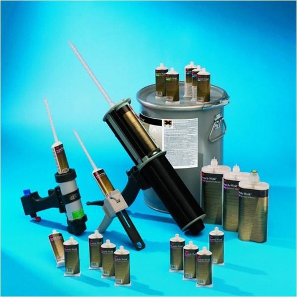 3M Scotch Weld, szívós kétkomponensű szerkezeti ragasztók: DP 110 DP 410, DP 460, DP490