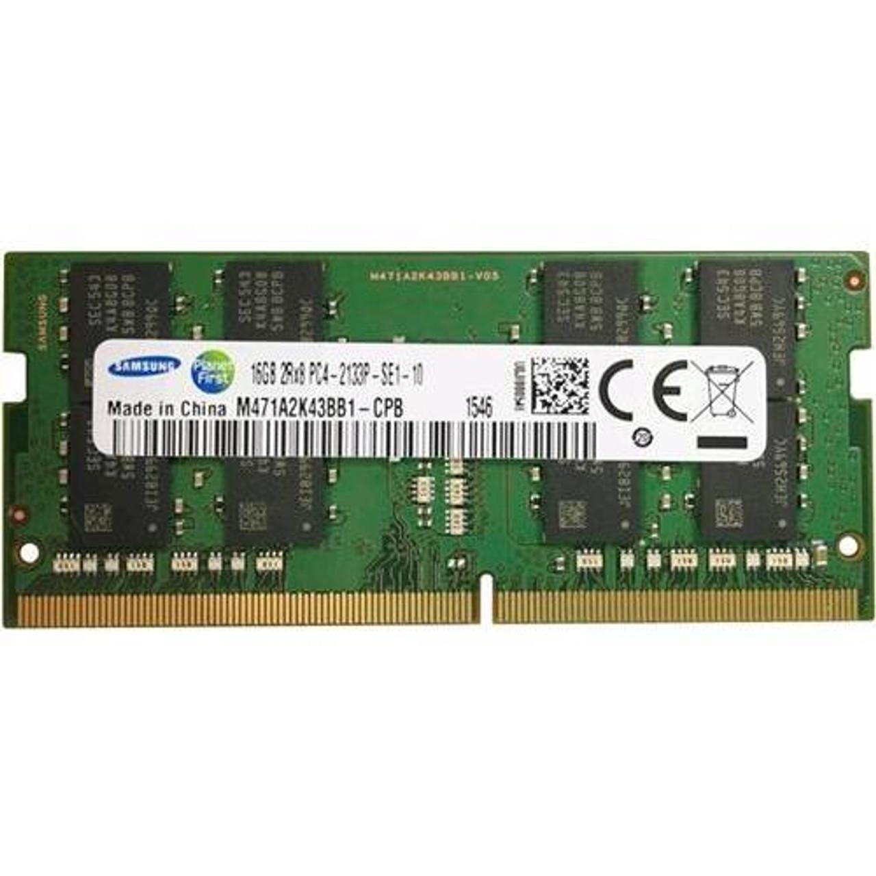 Samsung 16GB PC4-17000 DDR4-2133Mhz 260Pin 1.2v ECC SO-DIMM Laptop Memory Ram