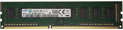Samsung 4GB DDR3 1600MHz PC3-12800 240-Pin non-ECC Unbuffered 1.35V LV Single Rank DIMM Desktop Memory M378B5173EB0-YK0