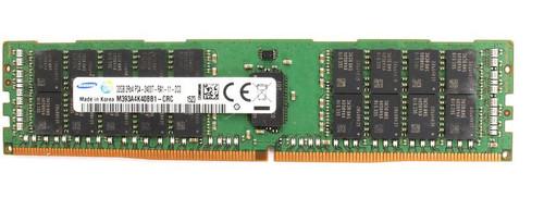 Samsung 32GB DDR4 2400MHz PC4-19200 288-Pin ECC Registered 1.2V DIMM Server Memory M393A4K40BB1-CRC