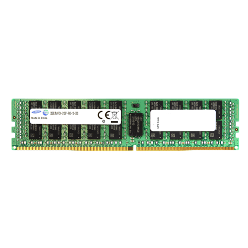 Samsung 64GB DDR4 2400MHz PC4-19200 288-Pin ECC Registered 1.2V DIMM Server Memory M386A8K40BM1-CRC