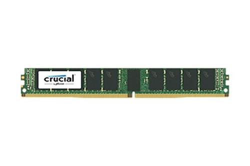 Crucial 16GB DDR4 2400MHz PC4-19200 288-Pin ECC Unbuffered 1.2V VLP Dual Rank DIMM Server Memory CT16G4XFD824A