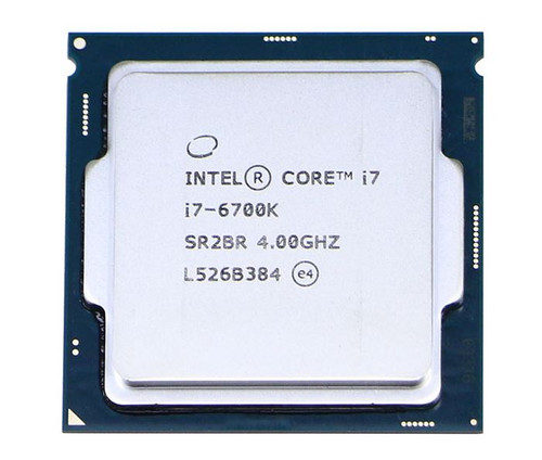 Intel Core i7-6700K 4.0GHz Socket-1151 OEM Desktop CPU SR2BR SR2L0 CM8066201919901