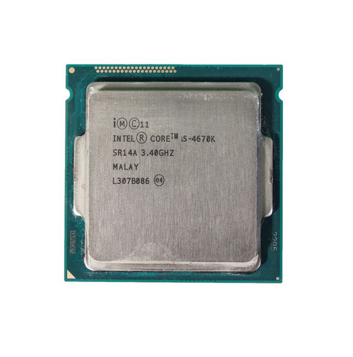 Intel Core i5-4670K 3.40GHz Socket 1150 Haswell OEM Desktop CPU SR14A CM8064601464506