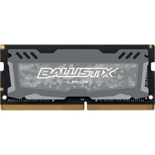 Crucial Ballistix Sport LT 8GB 2666MHz Notebook Memory BLS8G4S26BFSDK