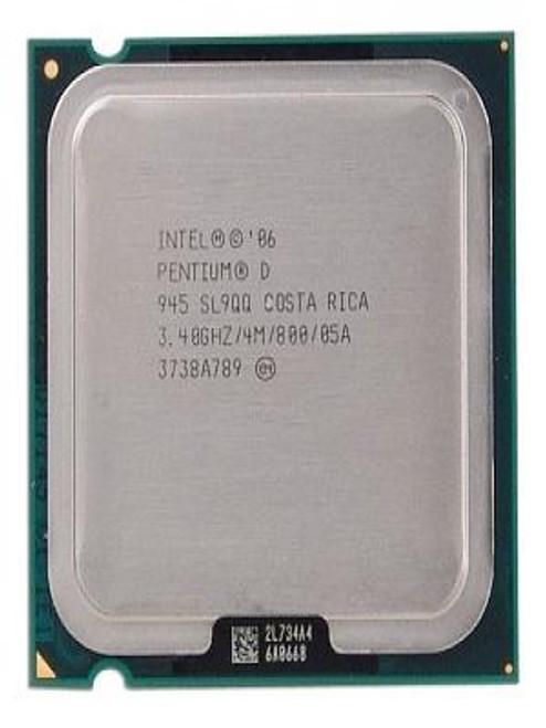 Intel Pentium D 945 3.4GHz OEM CPU SL9QQ HH80553PG0964MN
