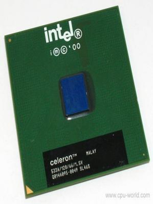 Celeron 667MHz 66MHz 128K FCPGA CPU OEM 2