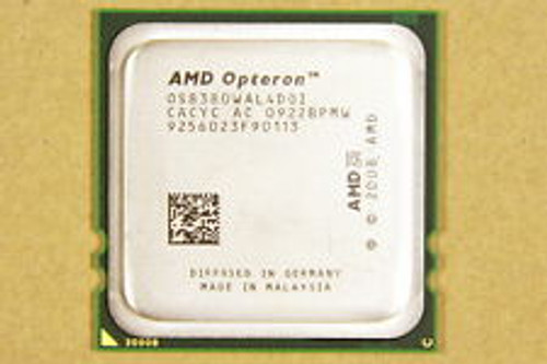 AMD Opteron 8380 2.50GHz 6MB L3 Server OEM CPU OS8380WAL4DGI