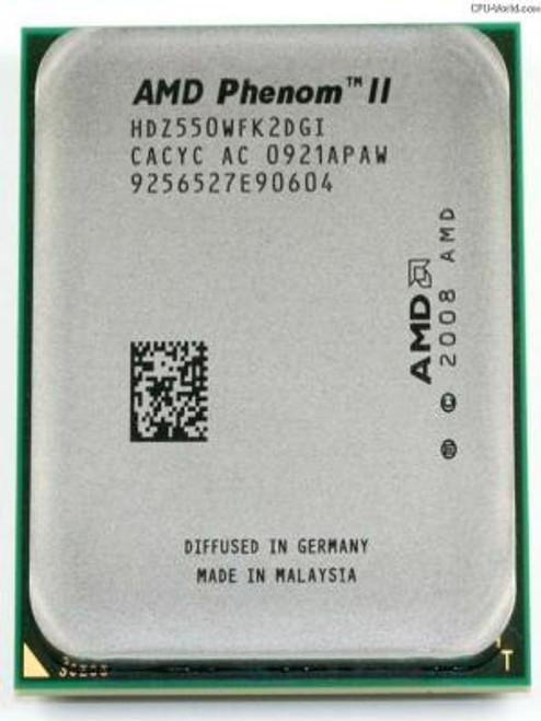 AMD Phenom II X2 550 3.10GHz 667MHz Desktop OEM CPU HDZ550WFK2DGI