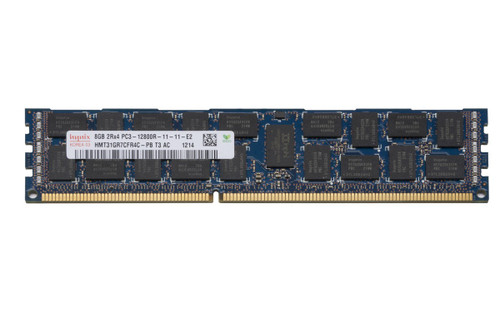 Hynix 8GB DDR3 1600MHz PC3-12800 ECC Registered DIMM Dual Rank OEM Server Memory HMT31GR7CFR4C-PB