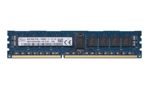 Hynix 8GB DDR3 1600MHz PC3-12800 ECC Registered DIMM Dual Rank OEM Server Memory HMT41GR7AFR8A-PB