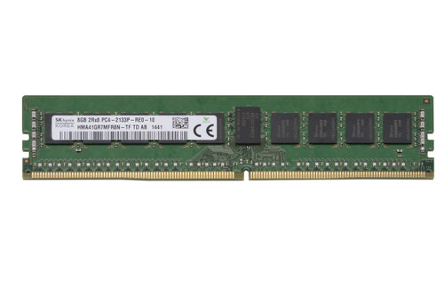 Hynix 8GB DDR4 2133MHz PC4-17000 288-Pin ECC Registered DIMM OEM Server Memory HMA41GR7MFR8N-TF