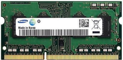 Samsung 8GB DDR3 1333MHz PC3-10600 non-ECC Unbuffered SoDIMM Dual Rank OEM Memory M471B1G73AH0-CH9