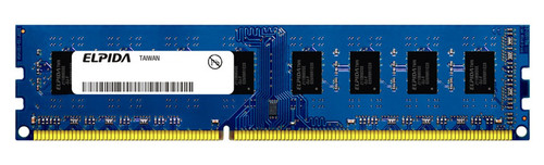 Elpida 2GB DDR3 1066MHz PC3-8500 non-ECC Unbuffered 240-Pin DIMM Dual Rank Desktop Memory EBJ21UE8BDF0-AE