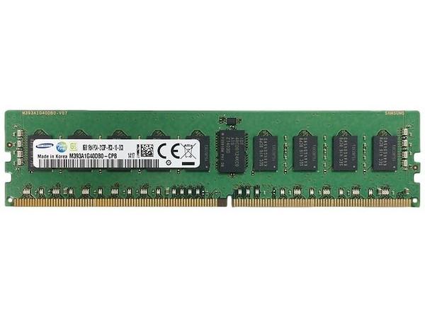 Samsung 8GB DDR4 2133MHz PC4-17000 288-Pin ECC Registered 1.2V Single Rank DIMM Server Memory M393A1G40DB0-CPB