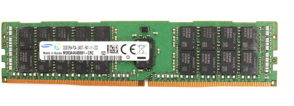 Samsung 32GB DDR4 2400MHz PC4-19200 288-Pin ECC Registered 1.2V DIMM Server Memory M393A4K40BB1-CRC